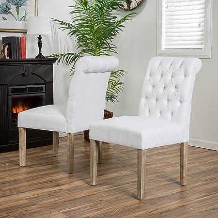 Blythe Dark Gray Dining Chairs Set of 2
