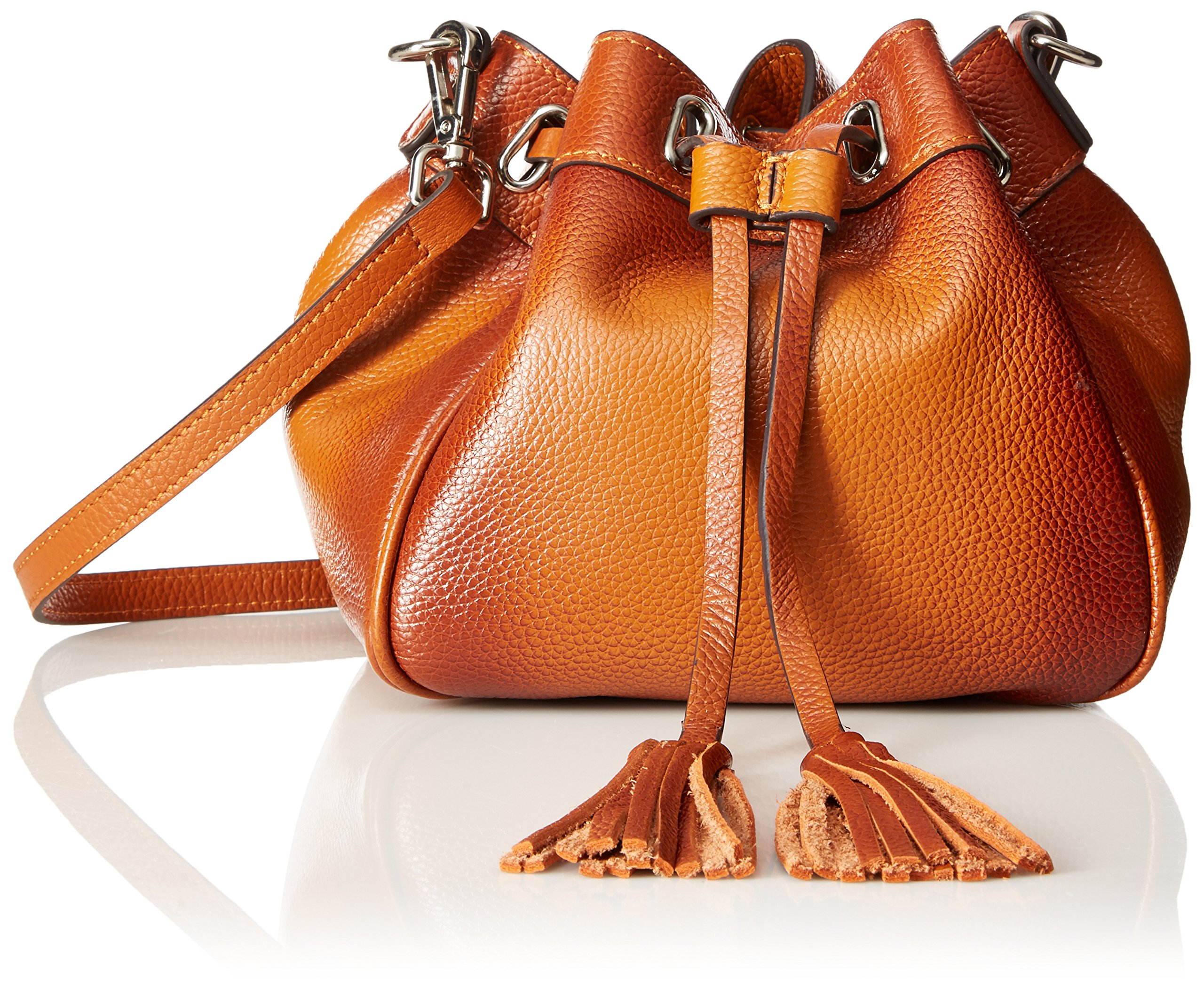 Vicenzo Leather Jolie Mini Bucket Bag