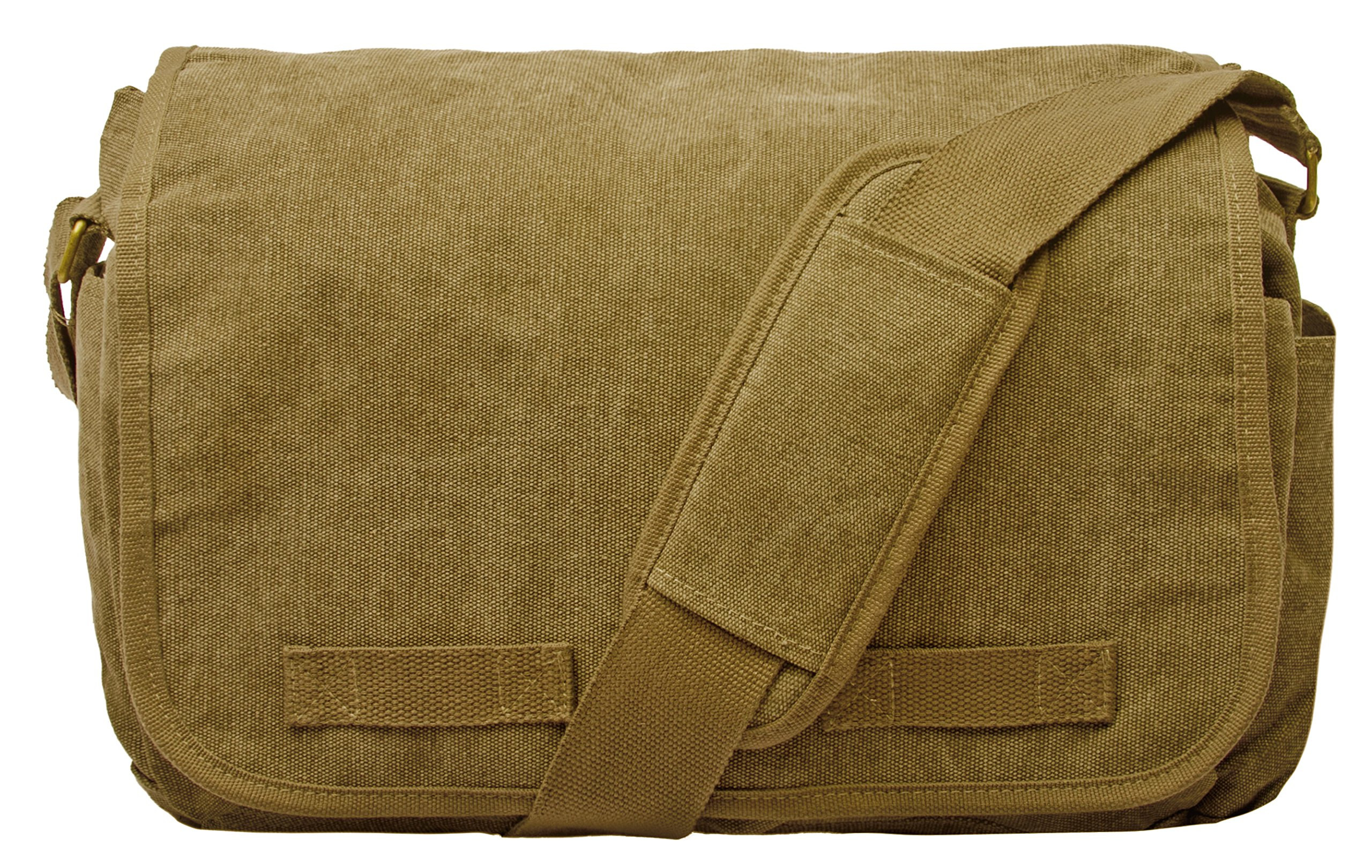Sweetbriar Classic Messenger Bag - Vintage Canvas Shoulder Bag for All-Purpose Use by Sweetbriar (Image #1)