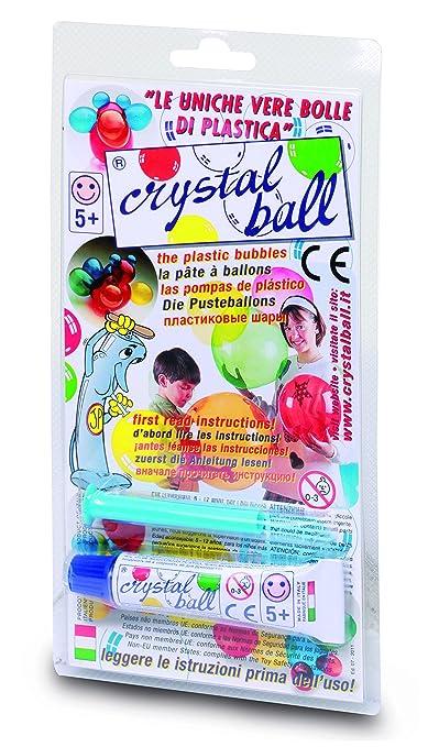 6 opinioni per Giochi Preziosi- Crystal Ball, Tubetto di Pasta 20g con Cannello di Soffiaggio,