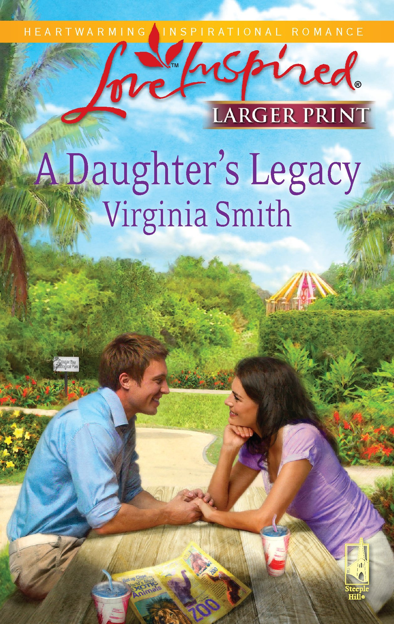 Read Online A Daughter's Legacy (Love Inspired Large Print) ebook
