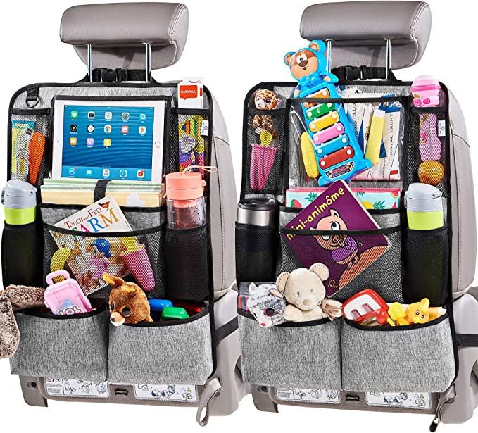 Helteko Backseat Car Organizer - High-Quality Back Seat Organizer