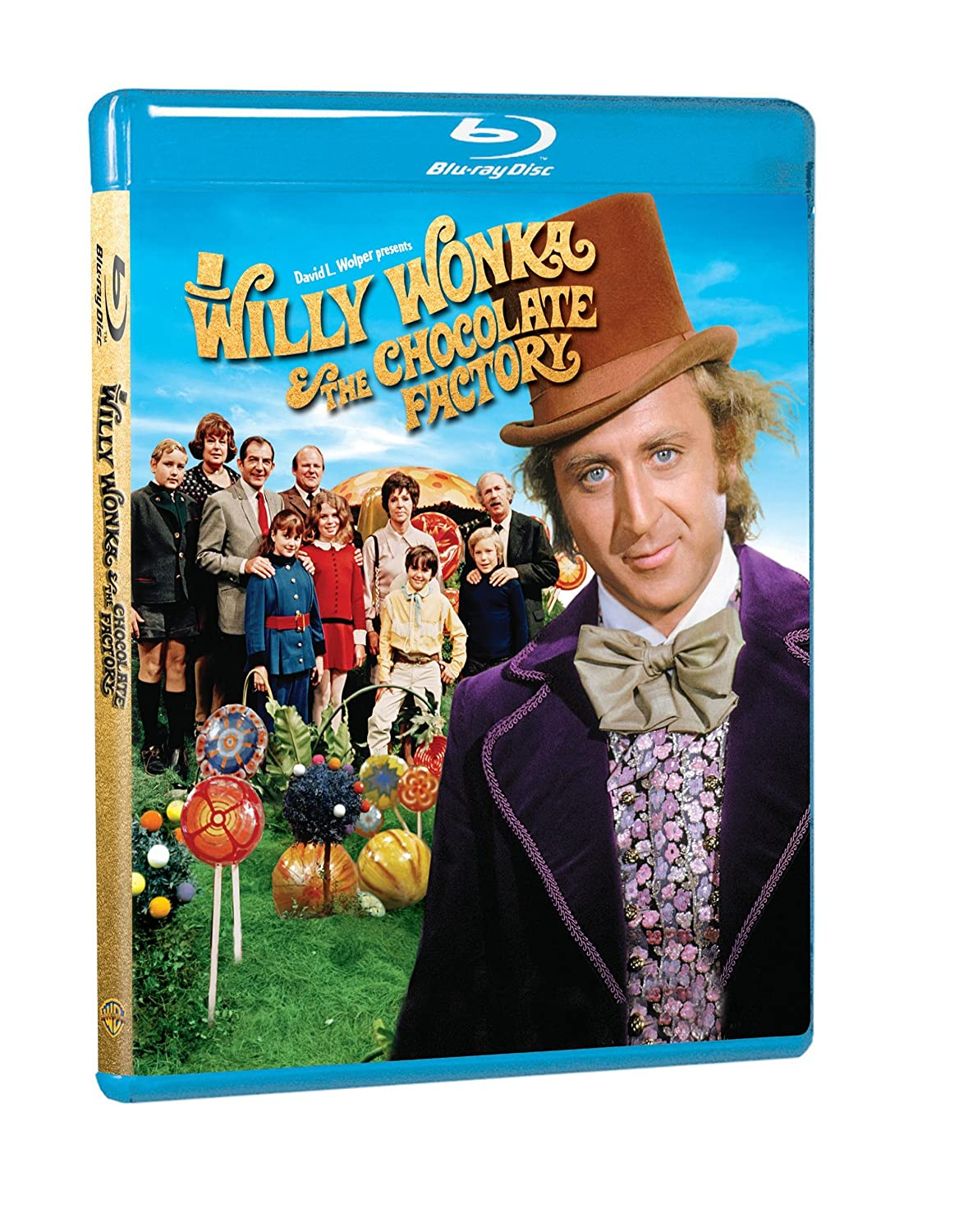 Amazon.com: Willy Wonka & the Chocolate Factory [Blu-ray]: Gene ...
