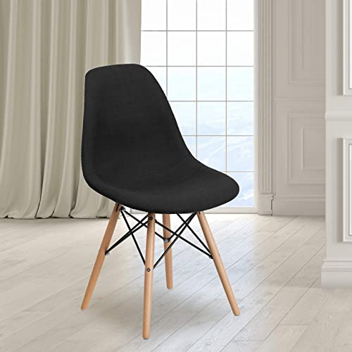 EMMA OLIVER Genoa Black Fabric Chair Review