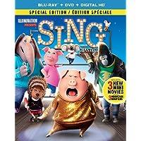Sing [Blu-ray + DVD + Digital HD] (Bilingual)