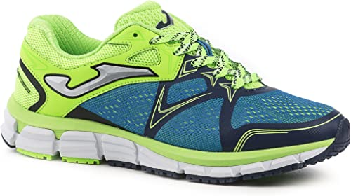 Joma R.Super Cross 605 Royal-Limon Fluor - Zapatillas de Running ...