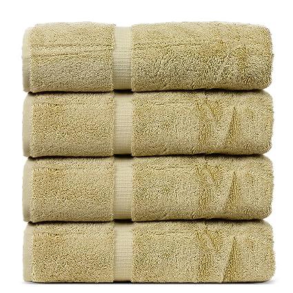 Bare Cotton Luxury Hotel /& Spa Towel Turkish Bath Sheets Dobby Border