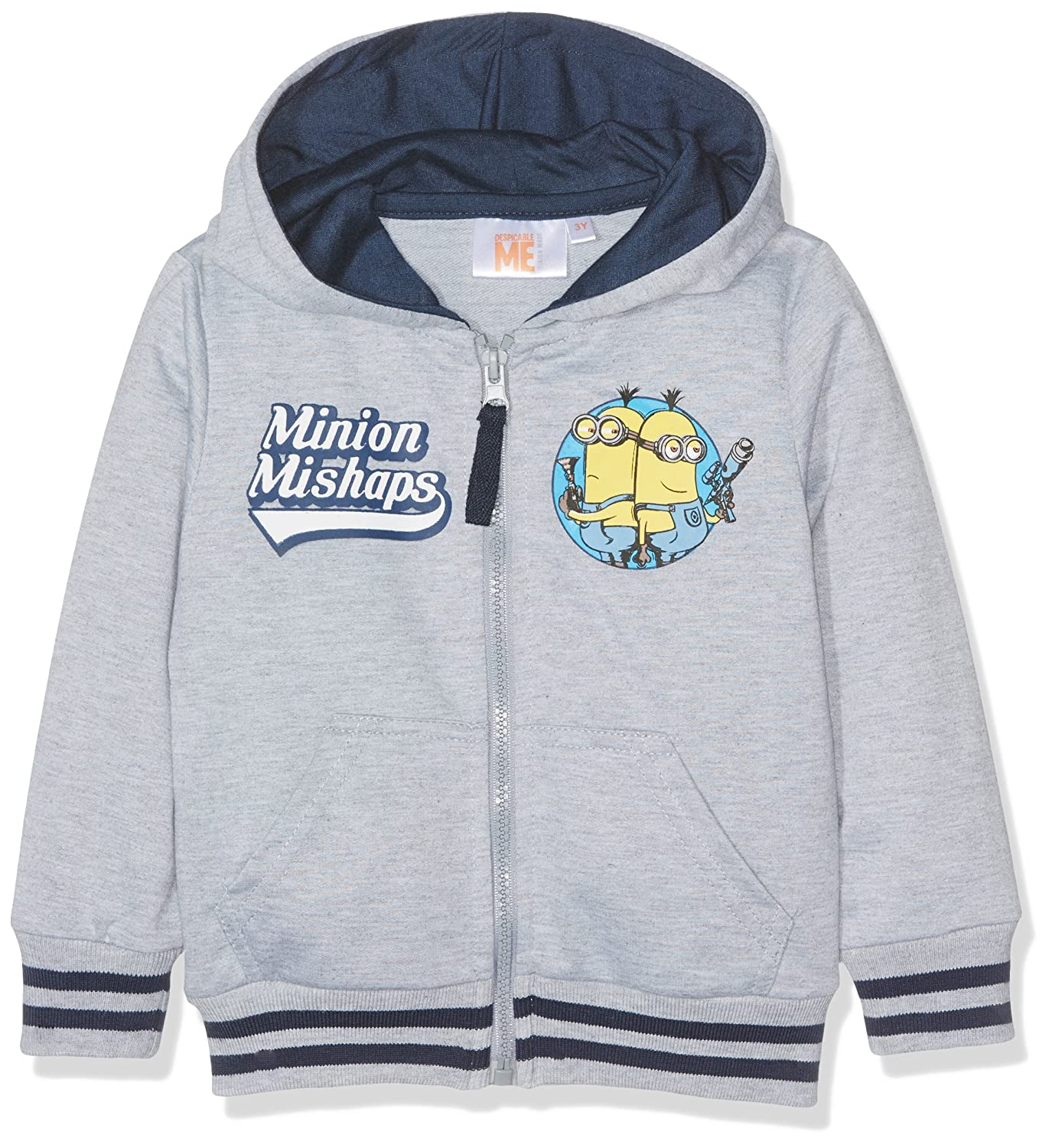 Minions Despicable Me Welcome to Paradise Hooded Sweater Jumper New 2018