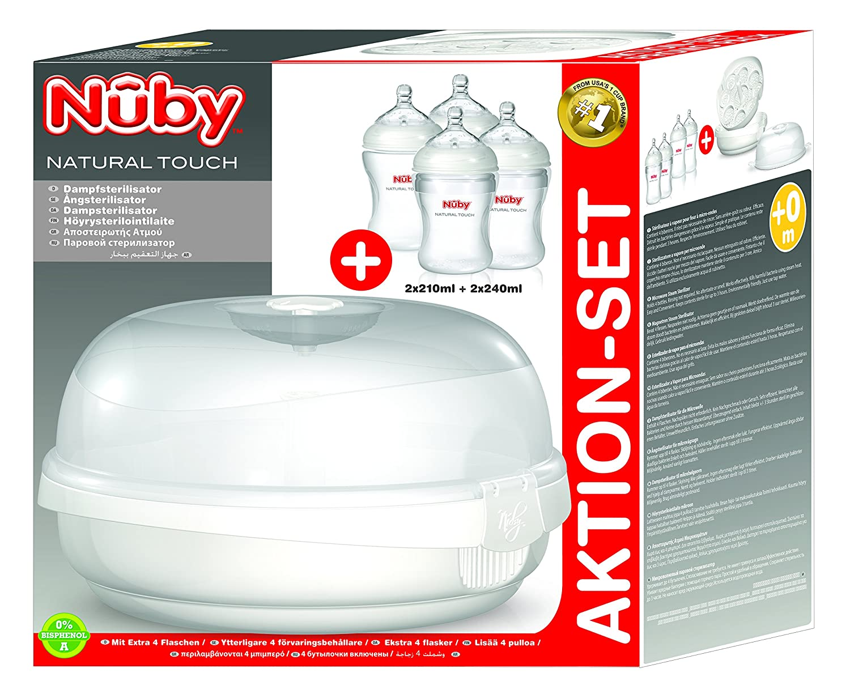 Nuby NTVP30 - Esterilizador de microondas: Amazon.es: Bebé