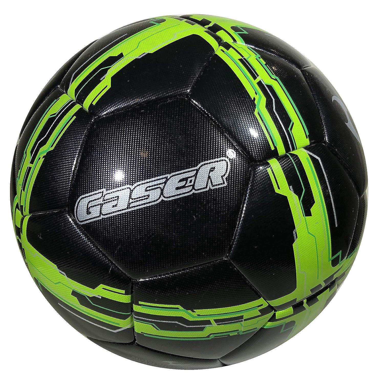 Balón de fútbol Opia Black Football Pro Cuero sintético Thermo ...