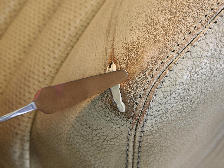 Colourlock® Flüssigleder - 7 ml de piel líquida apta para Mercedes-Benz, para cerrar grietas, rotura y agujeros en piel o de piel sintética (coche, ...