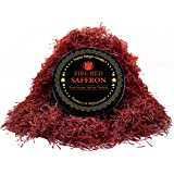 Persian Saffron Threads, Pure Red Saffron Spice Threads | Super Negin Grade | Highest Quality and Flavor | For Culinary Use Such as Tea, Paella Rice, Risotto, Tachin, Basmati, Rice (5 Grams)