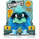 Pomsies Grumblies Hydro Plush Interactive Toys, Blue, One Size