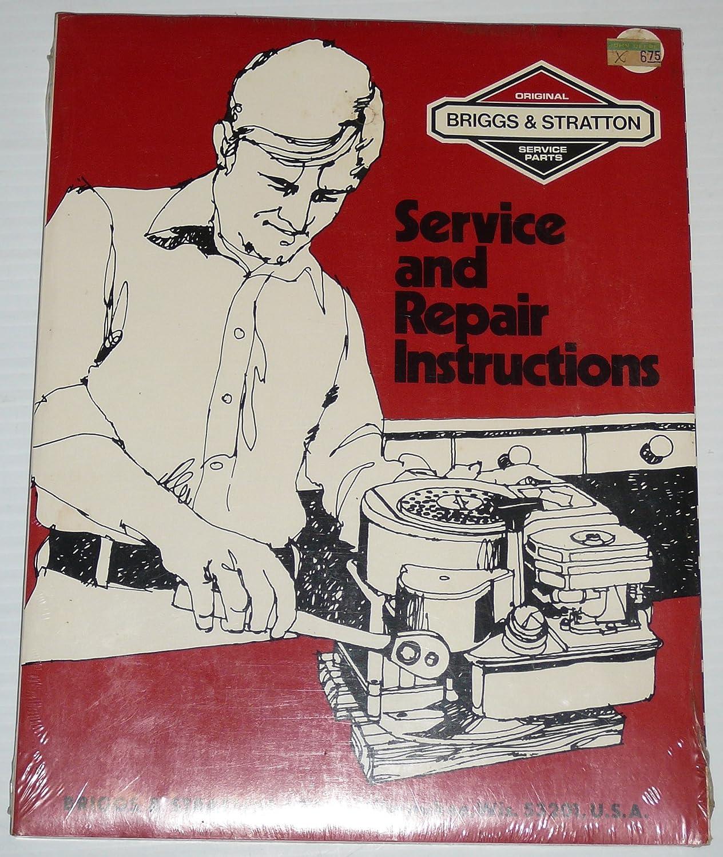 Amazon.com : Briggs & Stratton Service and Repair Instructions:Part No.  270962-3/84 : Garden & Outdoor