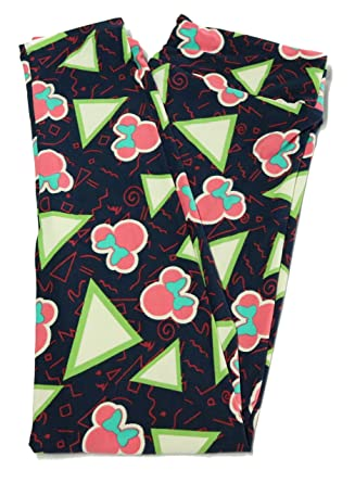 ee9bd87a1d8c17 Disney Collection Lularoe one size Mystery Leggings at Amazon Women's  Clothing store: