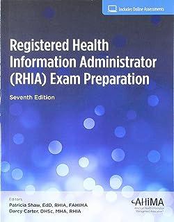 rhia exam flashcard study system rhia test practice questions rh amazon com RHIA Study Questions RHIA Degree Programs