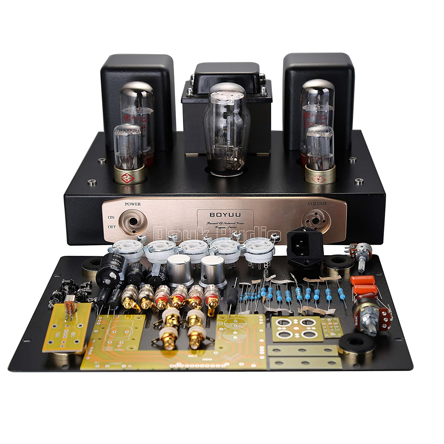 Nobsound El34 Pure Vacuum Tube Amplifier Single Ended Watt Audio Power Circuit Schematic Class A Hifi Stereo Amp 12w Diy Kit Home Theater