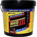 MuscleBlaze Mass Gainer XXL with Complex Carbs and Proteins in 3:1 ratio, 11 lb (Chocolate)