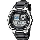 Casio Men's AE-2100W-1AVCF Digital Black and...