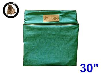 Ellie-Bo Carcasa Impermeable Perro Cama de Repuesto, 71 x 48 cm, tamaño Mediano, Verde: Amazon.es: Productos para mascotas
