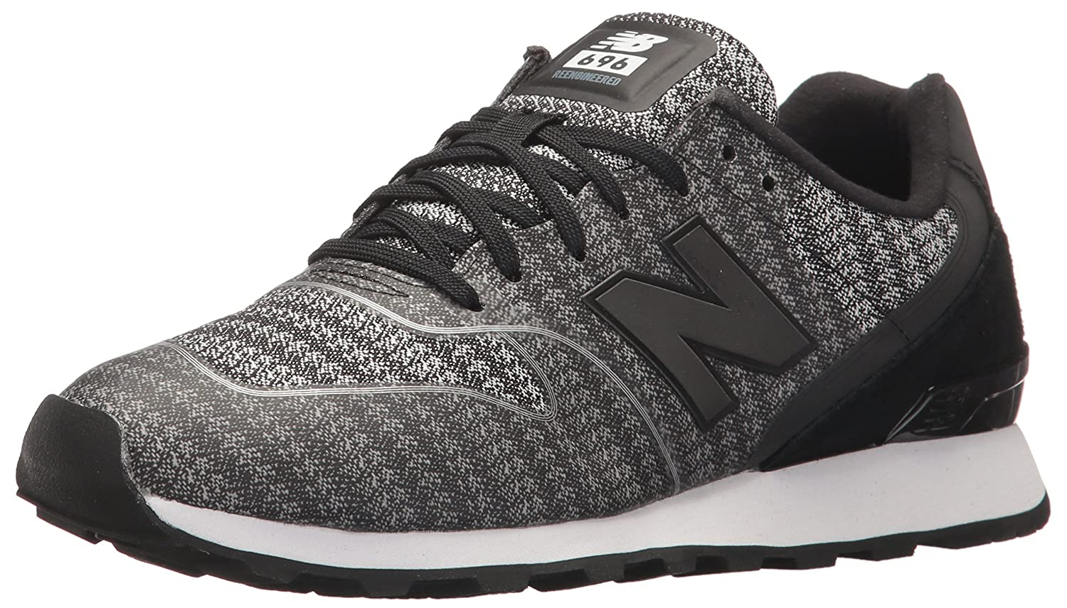 New Balance Women's 696 v1 Sneaker B01NA7CB9F 11.5 B(M) US|Black/Cyclone