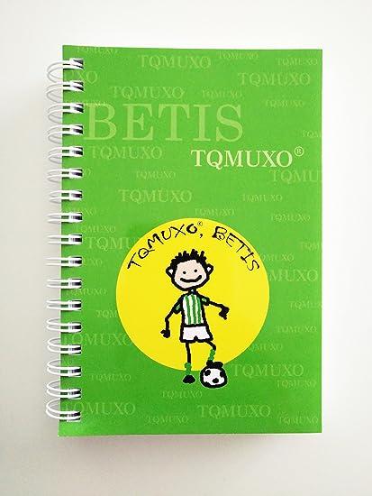 Pack de 3 libretas Tqmuxo BETIS: Amazon.es: Oficina y papelería