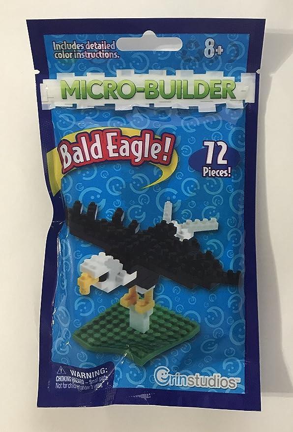 Amazon Micro Builder Bald Eagle Toys Games