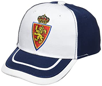 Real Zaragoza Gorzar Gorra, Azul/Blanco, Talla Única