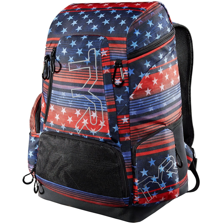 TYR Alliance 45L USA Print Backpack