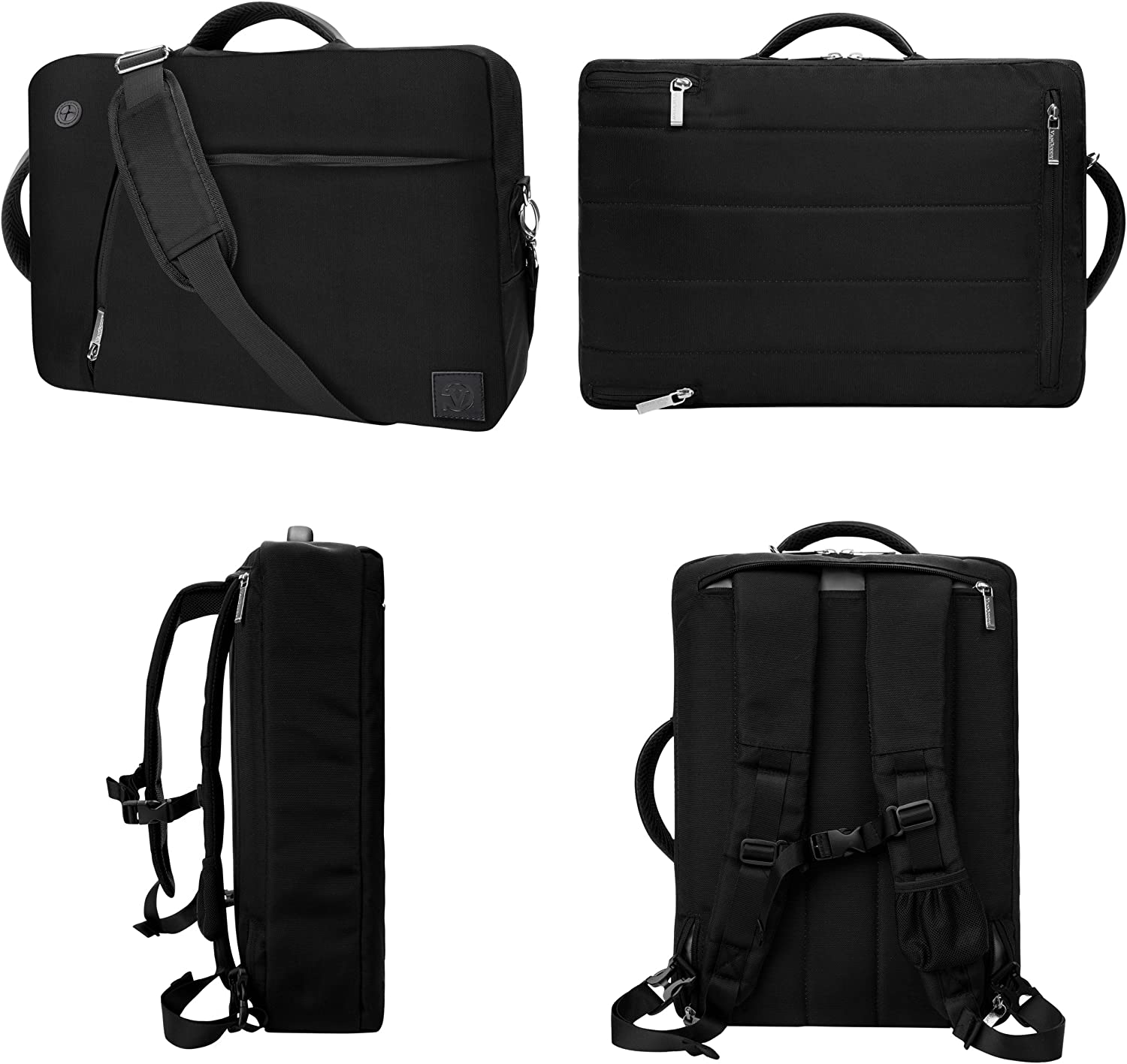 Galaxy Book ChromeBook Black 10 to 12 inch Convertible Laptop Bag for Samsung Galaxy Tab S6 S5e A S4 10.5