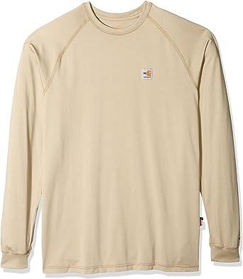 Carhartt - Camiseta de manga larga para hombre grande y alto ...