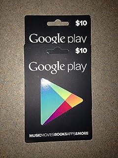 Amazon.com: Google play $10 Credit (Google Play USA Only ...