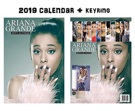 Calendario Ariana Grande 2020.Ariana Grande Calendar 2019 Ariana Grande Keychain