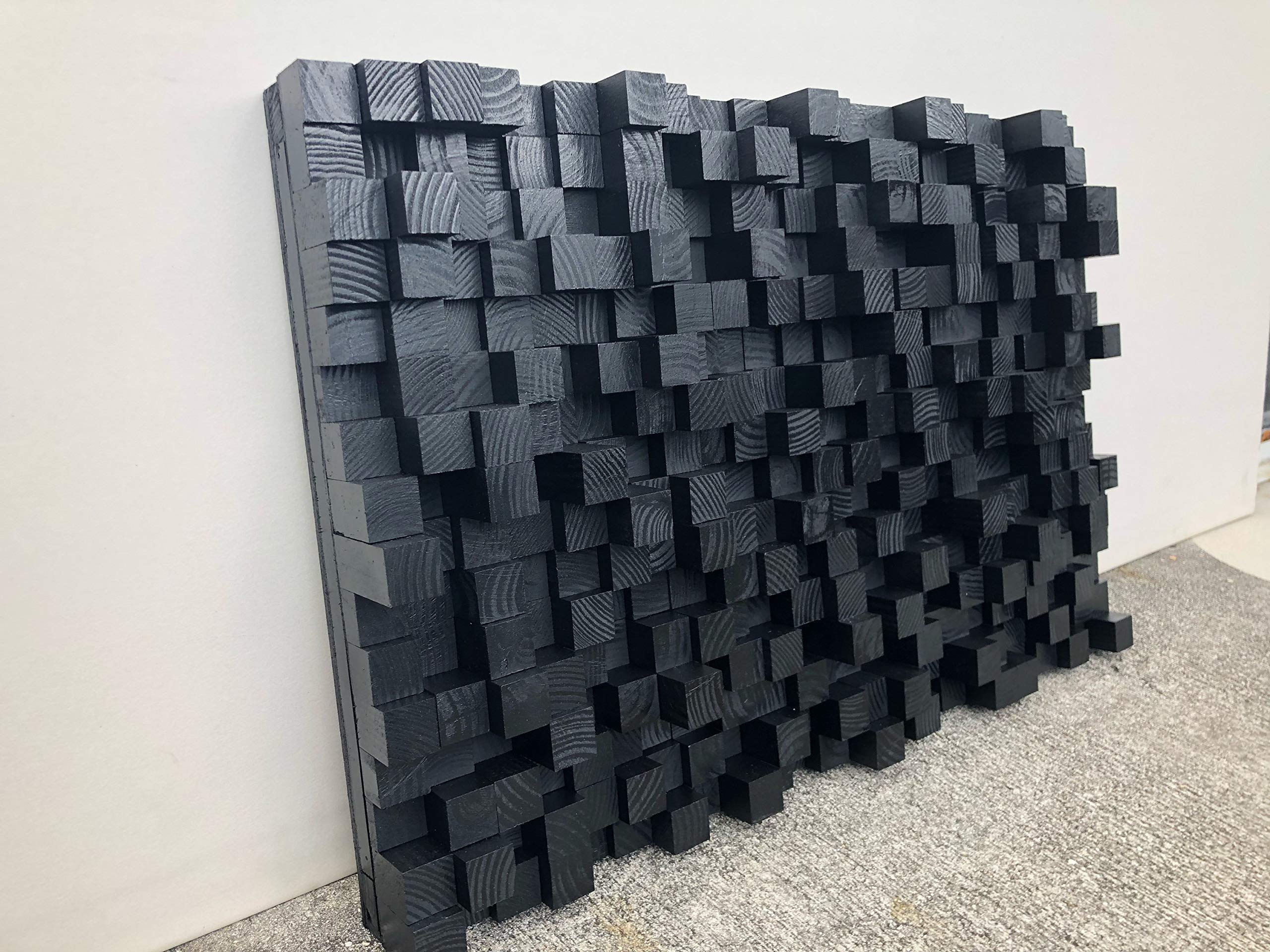 Sound Diffuser - Acoustic Diffusion Panel - Soundproofing - Wood - Wall Art- sound diffusor