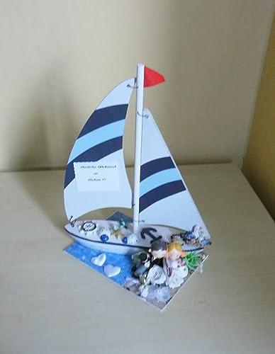 Geldgeschenk Hochzeit Strand Reise Schiff Amazon De Handmade