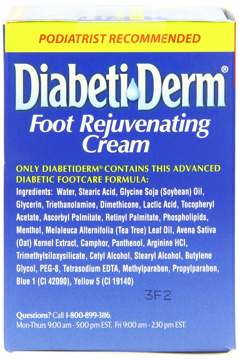 DiDerm (foot cream): instructions, reviews