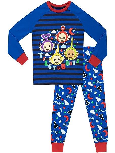 Teletubbies - Pijama para Niños - Teletubies - Ajuste Ceñido - 18 - 24 Meses