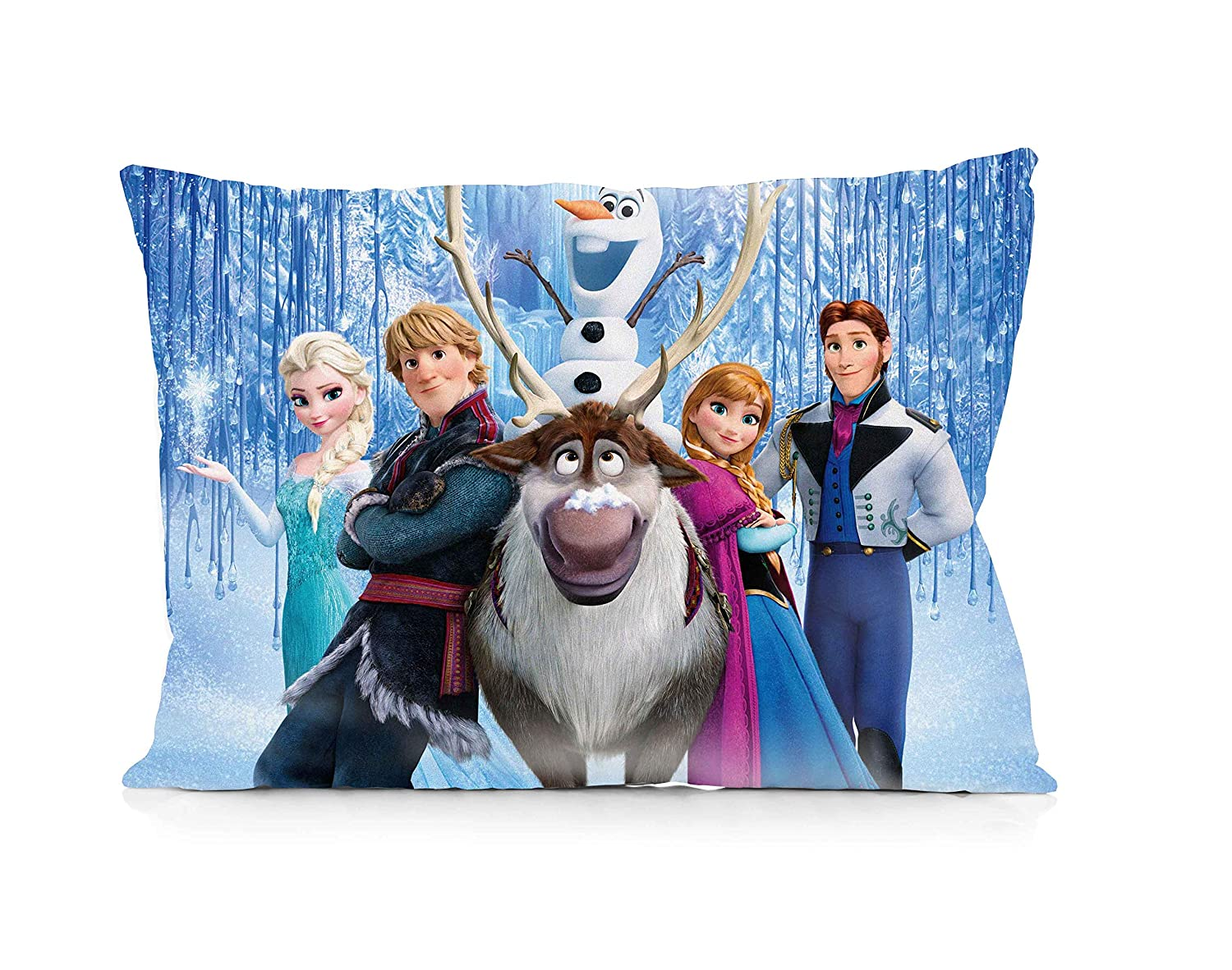 Frozen Pillowcase Size 20x30 Inches Two Sides Print Zipper Pillowcases