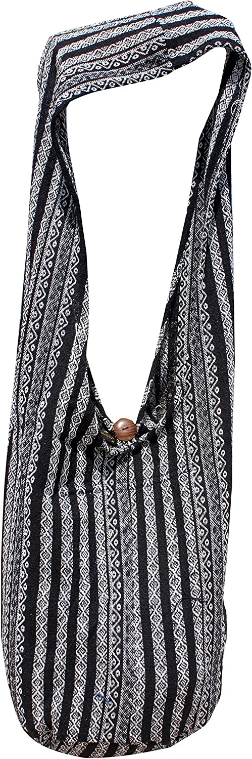 RaanPahMuang Thick Soft Cotton Large Yaam Shoulder Mexican Messenger Bag