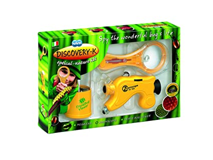 Children Kids Explore Learn Educational NEW Science Toy NAVIR Magnifying Lens