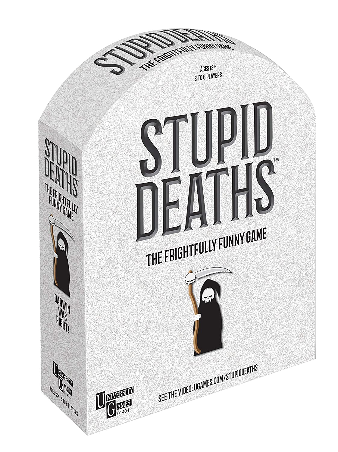 Party Game 01404 University Games Stupid Deaths