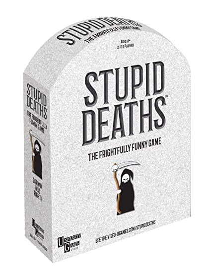 University Games Stupid Deaths, Party Game