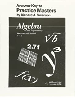 Mcdougal littell high geometry test and practice generator cd rom mcdougal littell answer key to practice masters algebra and trigonometry structure and method book fandeluxe Image collections