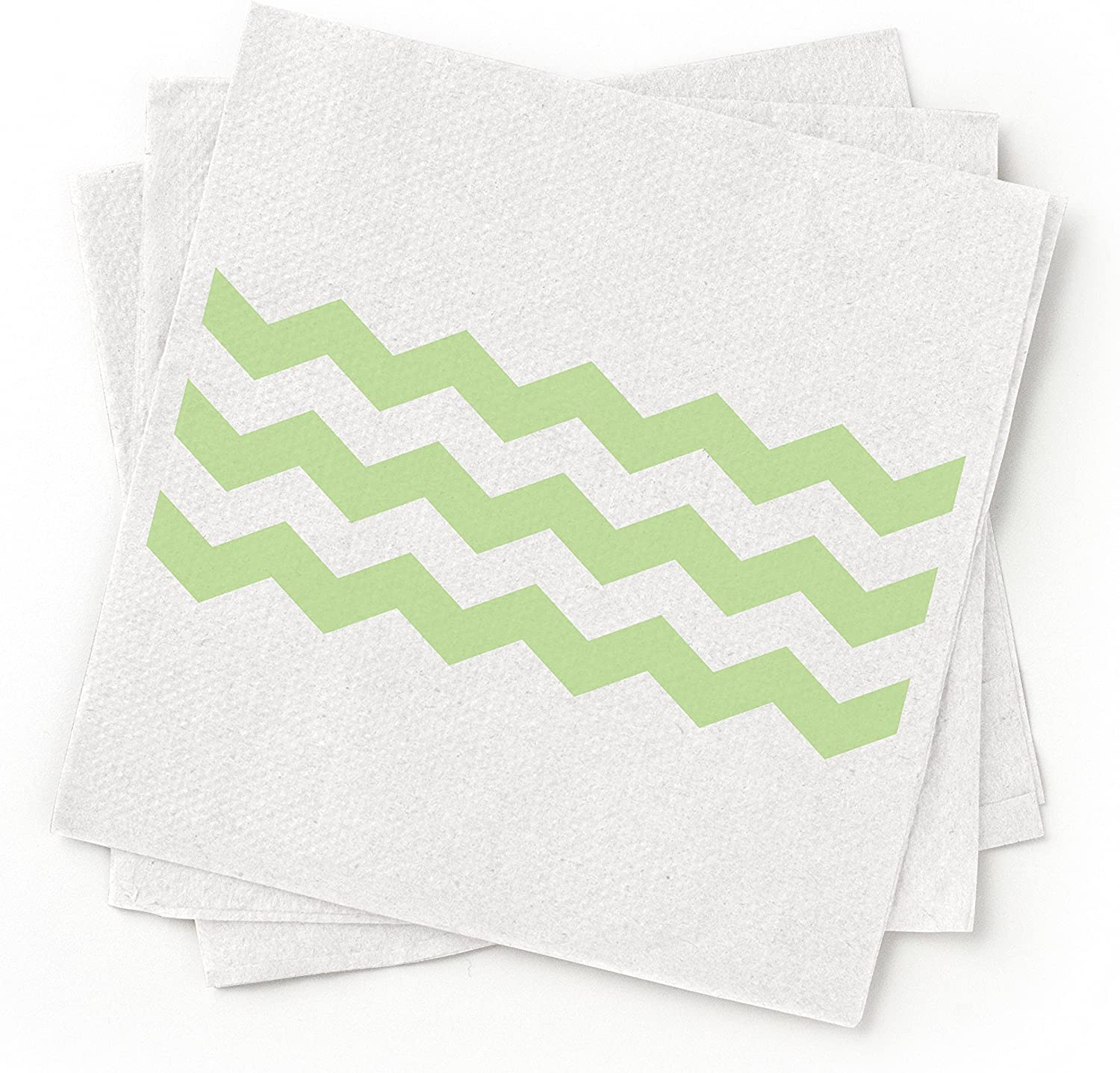 100/% Recycled Paper Cocktail Napkin Blue Pack of 200