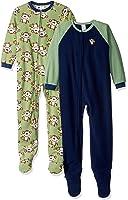Gerber Baby Boys' Little 2 Pack Blanket Sleepers