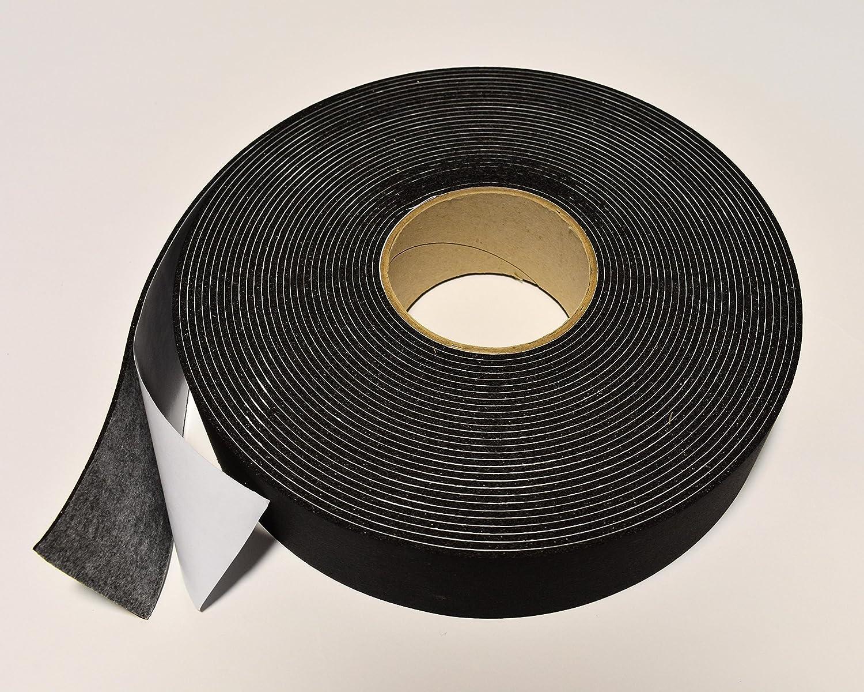 reemo aislamiento para tuberí a quedando cinta 50 mm x 3 mm x 15 m negro espuma clase o