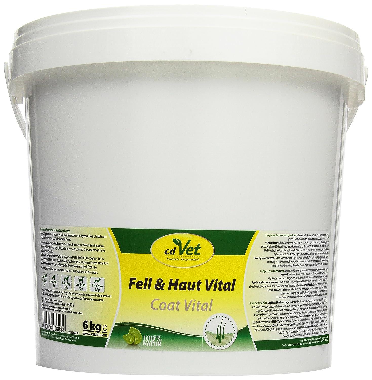 cdVet Naturprodukte Fell & Haut Vital Hund & Katze 6000 g