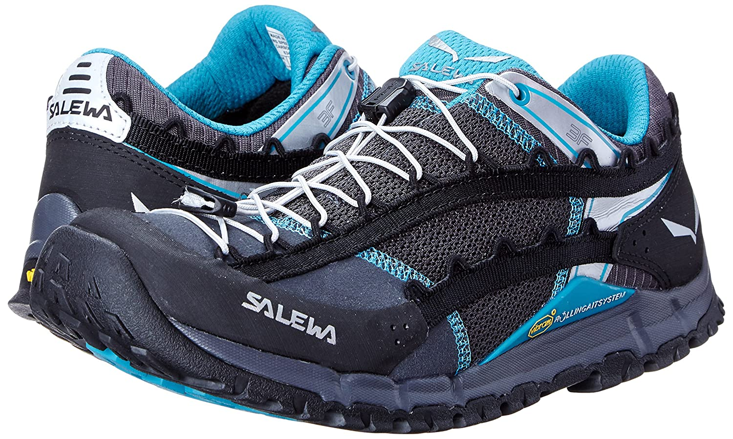 Salewa Women's WS Speed Ascent Hiking Shoe B00N48NYSA 6 B(M) US|Carbon/Pagoda