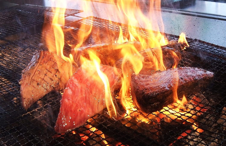 炭火で仕上げたローストビーフ
