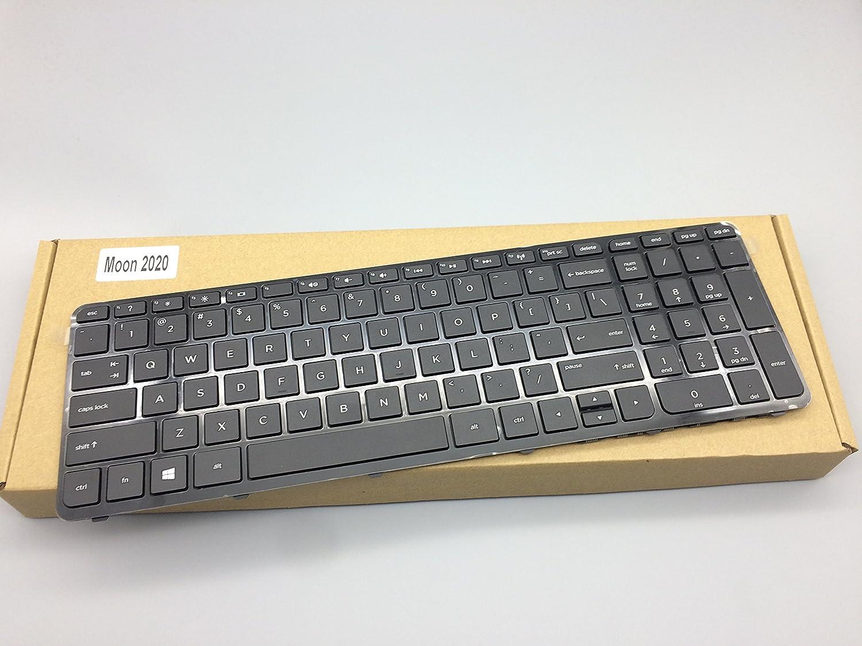 US Keyboard with Frame For HP 15-n220ca 15-n220nr 15-n227nr 15-n228us 15-n228nr